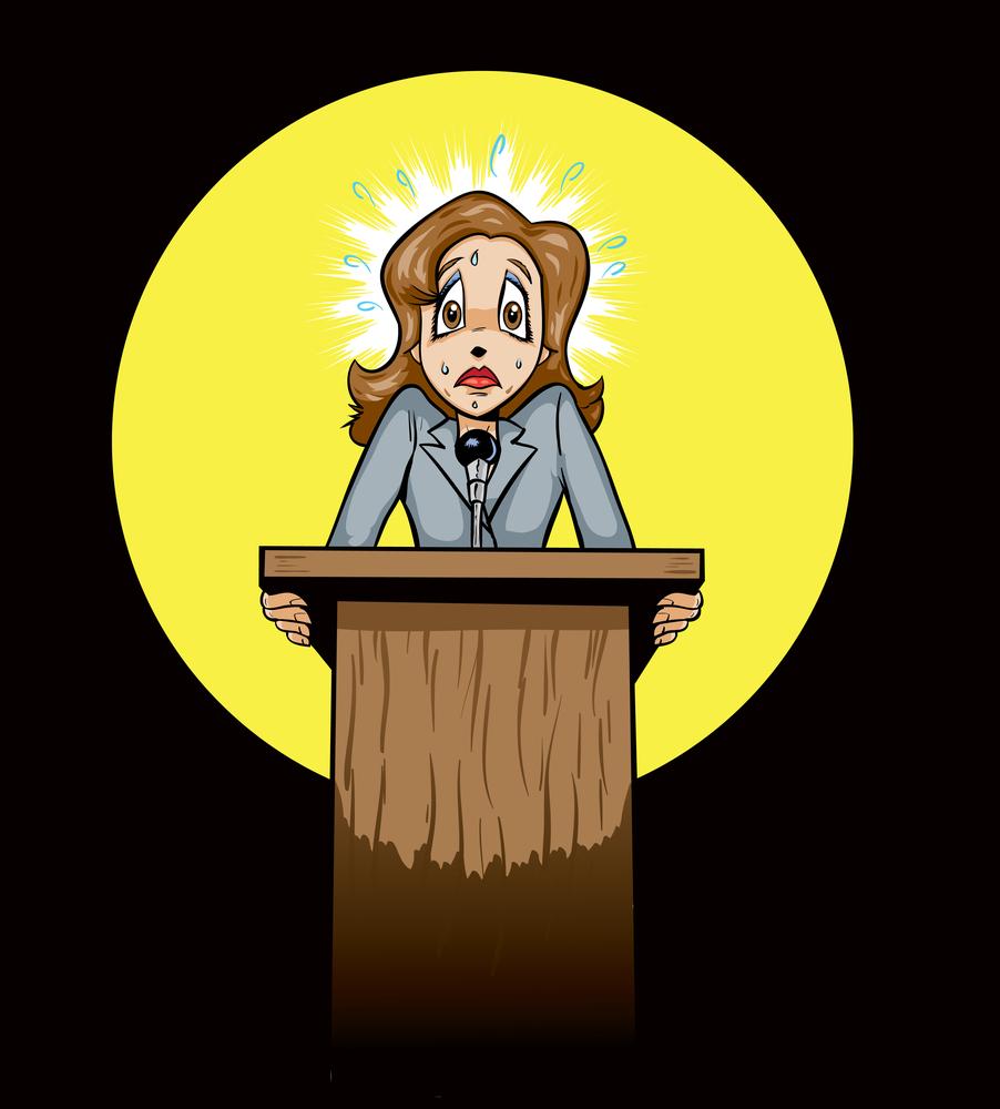 Rettegés a nyilvános beszédtől